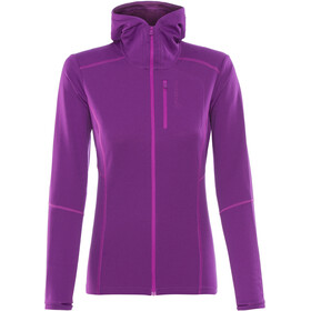 Norrøna Trollveggen Warm/Wool1 Zip Hoodie Women royal lush
